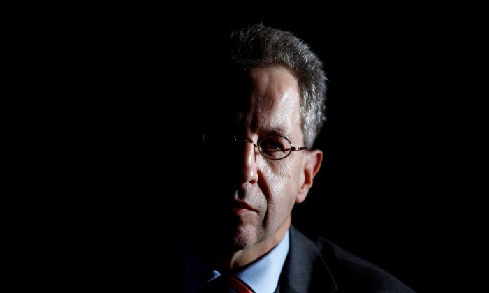 Hans-Georg Maassen, President of the Federal Office for the Protection of the Constitution, in Berlin, Germany on Jan. 30, 2018. (Reuters/Axel Schmidt/File Photo)