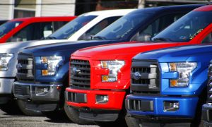 Ford Recalls 2,000,000 Pickup Trucks; Seat Belts Can Cause Fires