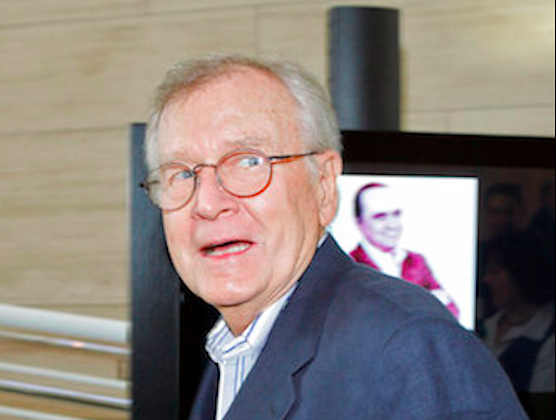 """Bill Daily, the comic sidekick to leading men on the sitcoms """"I Dream of Jeannie"""" and """"The Bob Newhart Show,"""" has died. Family spokesman Steve Moyer said Sept. 8, 2018 that Daily died of natural causes in Albuquerque, New Mexico on Sept. 6, 2018. He was 91. (Mark J. Terrill/AP)"""