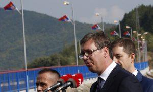 Kosovo Albanians Block Roads During Serbia President Visit