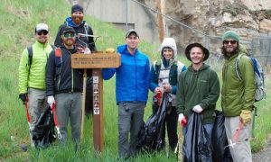 Hiking Friends Inspire Thousands to Clean Up the Trails