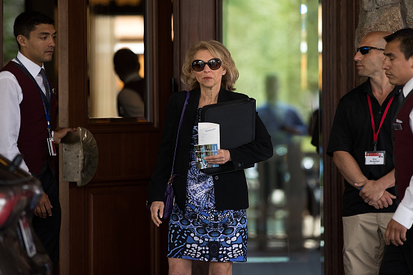 Shari Redstone, a trustee and a vice chairman of Viacom and CBS, attends the annual Allen & Company Sun Valley Conference, July 5, 2016 in Sun Valley, Idaho. (Drew Angerer/Getty Images)