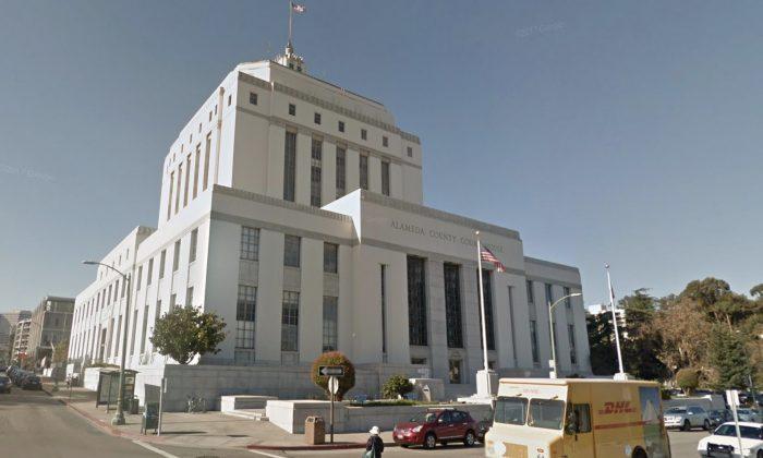 Alameda County District Attorney's Office. René C. Davidson Courthouse, 1225 Fallon St #900, Oakland, CA 94612. (Map data @2018 Google).