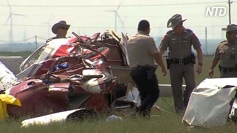 Plane crash in Hereford, Texas