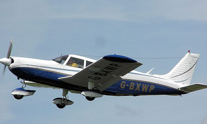 Stock photo of a small plane. (Adrian Pingstone/Wikipedia)
