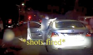 LAPD Video Shows Female Officer Getting Shot at Point-Blank Range