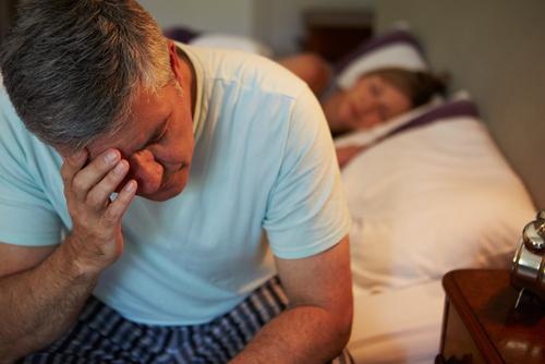 Men with high levels of distress were 60 percent more likely to have a heart attack. (Shutterstock)
