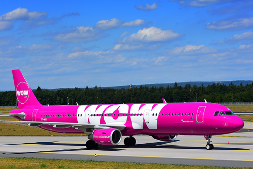WOW air was established in 2011. (Shutterstock)
