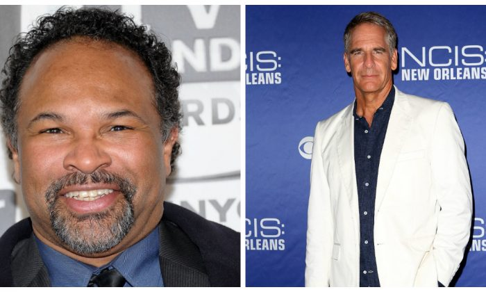 (L) Actor Geoffrey Owens attends the 9th Annual TV Land Awards at the Javits Center in New York City on April 10, 2011. (Photo by Michael Loccisano/Getty Images) (R) Scott Bakula attends the screening of 'NCIS: New Orleans' at the National WWII Museum in New Orleans, Louisiana on September 17, 2014. (Photo by Marianna Massey/Getty Images)