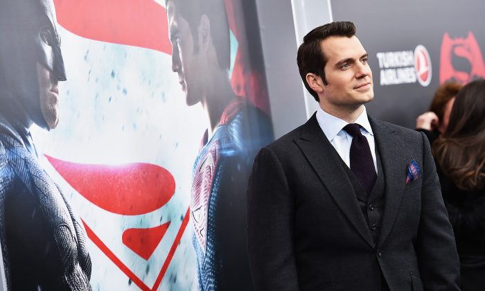 "Actor Henry Cavill attends the ""Batman V Superman: Dawn Of Justice"" New York Premiere at Radio City Music Hall in New York City on March 20, 2016. (Photo by Dimitrios Kambouris/Getty Images)"