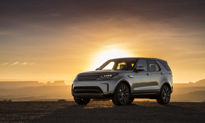 2018 Land Rover Discovery. (Courtesy of Land Rover)