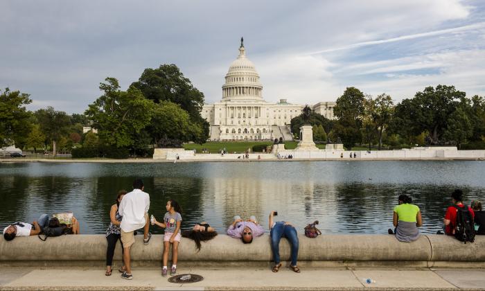 Capitol Hill in Washington on Sept. 22, 2017. (Samira Bouaou/The Epoch Times)