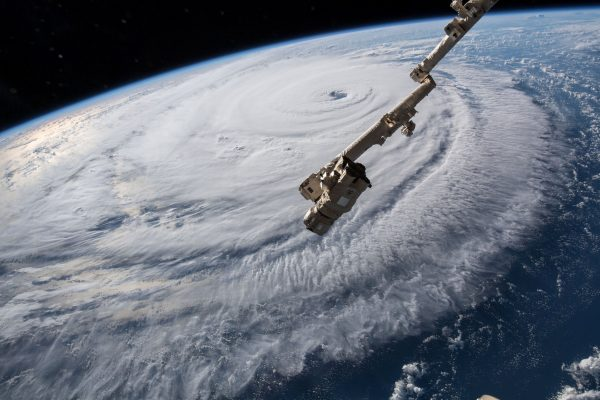 Hurricane Florence from outer space