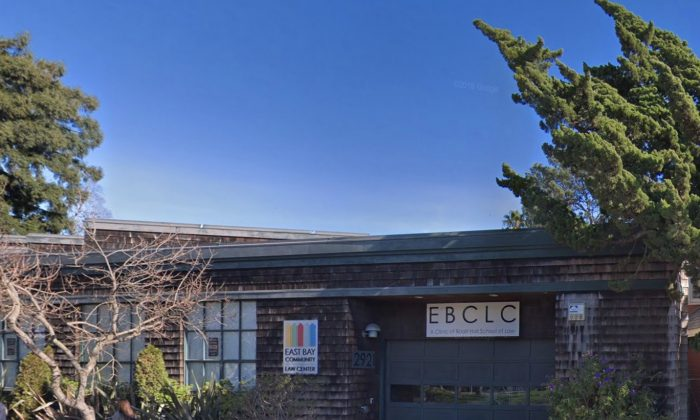 East Bay Community Law Center in Berkeley, Calif. (Map data @2018 Google)