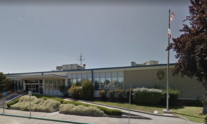 Vallejo Police Department in Vallejo, Calif. (Map data @2018 Google)