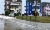 Video: Hurricane Florence Floods Big Houses Near Frisco, Outer Banks