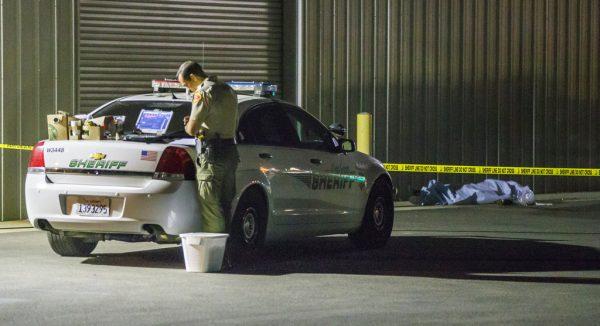 A gunman killed five people,