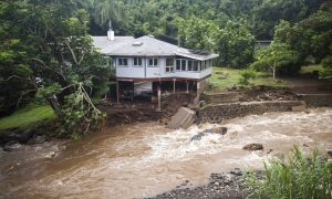 Honolulu Warns Residents After Storm Swells Dam Water Levels
