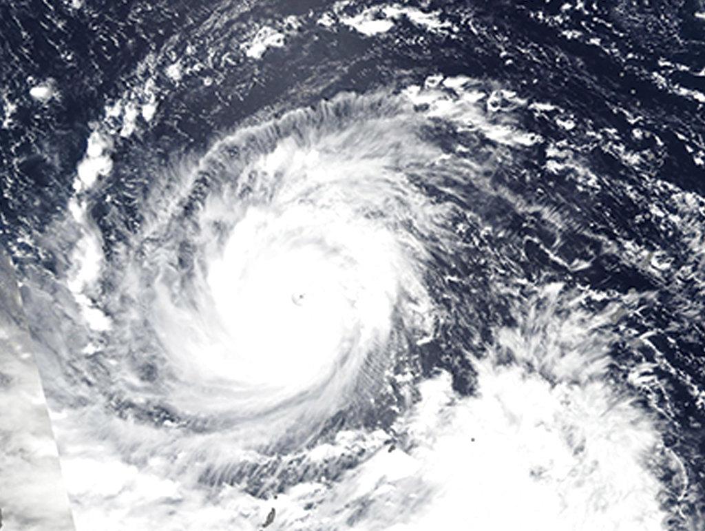 NASA Super Typhoon Mangkhut churns towards the Philippines, China