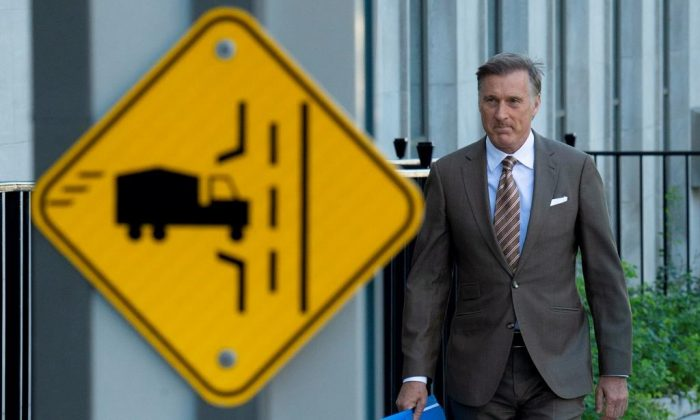 Former Conservative MP Maxime Bernier created his own political party—The People's Party of Canada. (The Canadian Press)