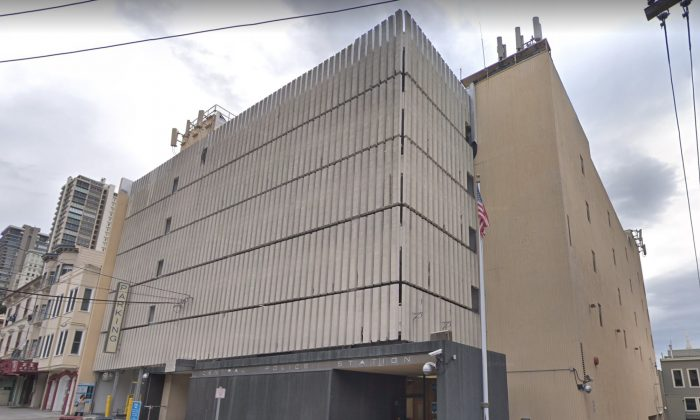 SFPD Central Station. 766 Vallejo St, San Francisco, CA 94133. (Map data @2018 Google)