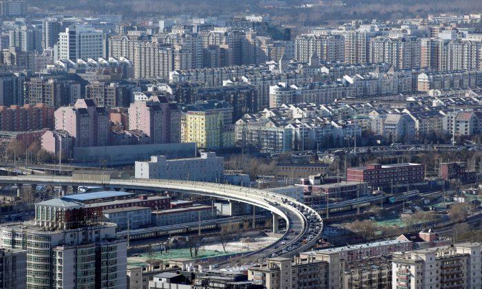 Residential buildings in Beijing on January 10, 2017. (Jason Lee/Reuters)