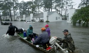 Video Shows Cajun Navy Rescuing Residents of North Carolina City