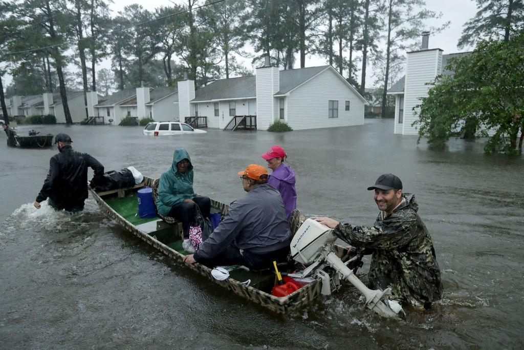 Cajun Navy responds to Hurricane Florence