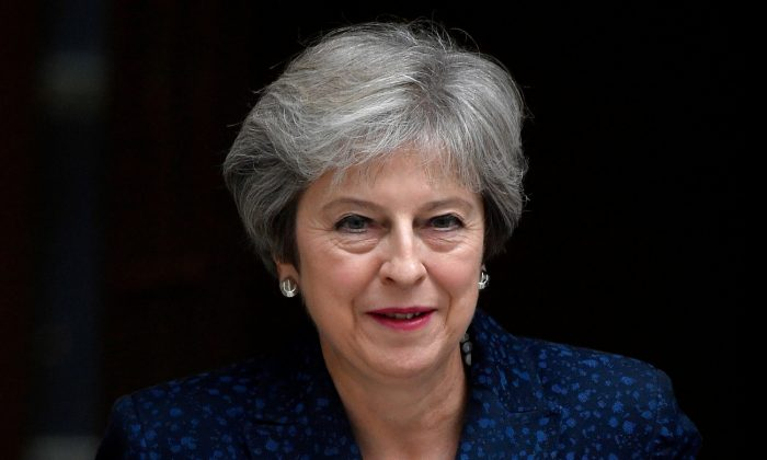 Britain's Prime Minister Theresa May leaves 10 Downing Street in London, September 12, 2018. (Reuters/Toby Melville/File Photo)
