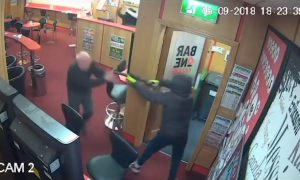 CCTV Shows 83-Year-Old Take on Hammer-Wielding Robbers