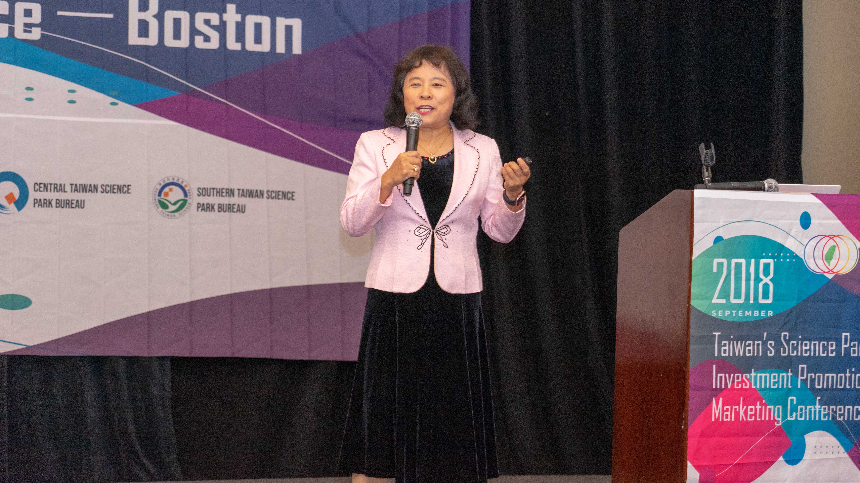 Dr. Hsiujuan Tsai from Tangsueng Technology Consulting