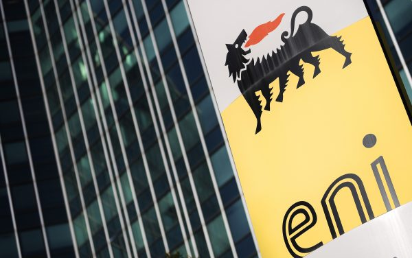 The headquarters of the Italian oil and gas company Eni