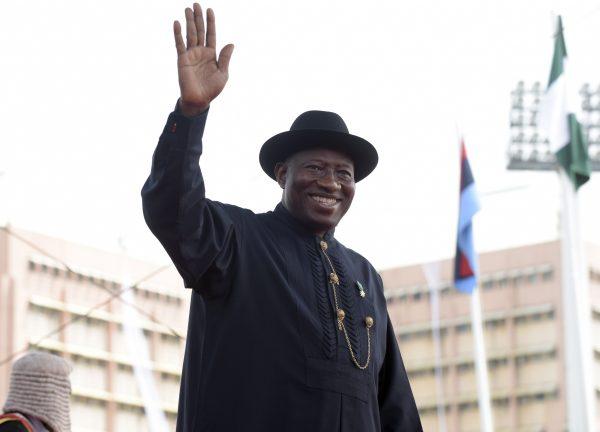 Former Nigerian President Goodluck Jonathan