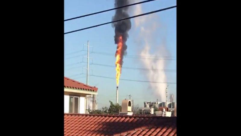 refinery la chevron fire