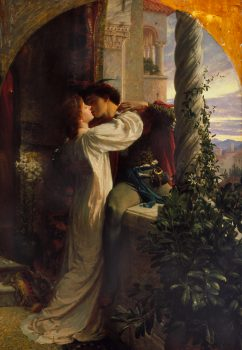 A painting by Frank Bernard Dicksee of Romeo_and_Juliet