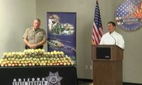 225 Pounds of Meth Seized in Arizona in One Week