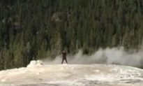 Man Arrested After Video Shows Him Walking on Yellowstone National Park Geyser