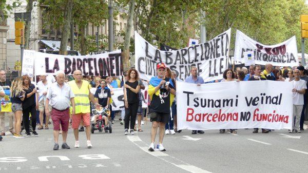 Demonstration Barcelona