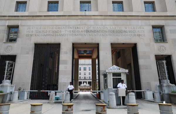 The Department of Justice in Washington