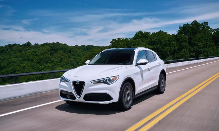 2018 Alfa Romeo Stelvio Ti Lusso. (Courtesy of FCA US)