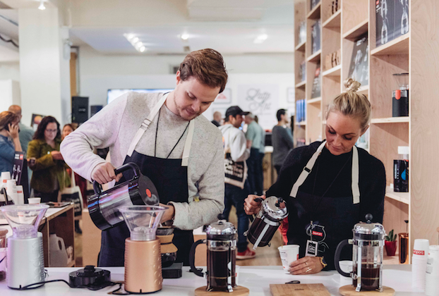 Guests can taste their way through a variety of beans, blends, and styles. (Courtesy of New York Coffee Festival)
