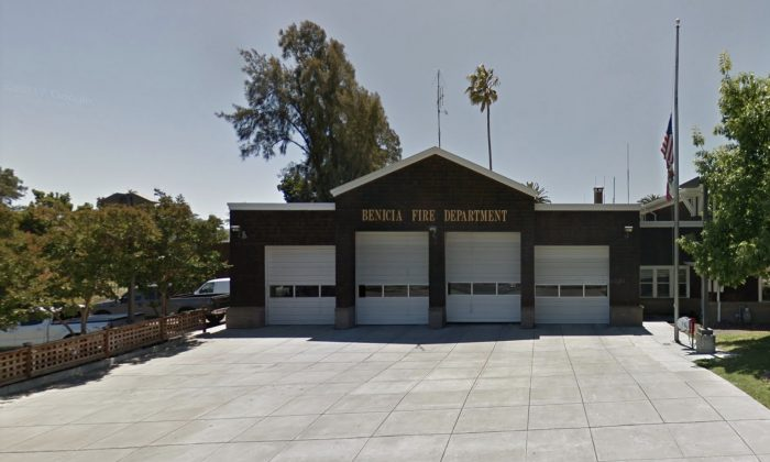 Benicia Fire Department is offering residents a File of Life information to first responders in emergency. (Map data @2018 Google)