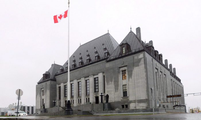 The Supreme Court of Canada in Ottawa in a file photo. The legal services industry is slowly adapting to technological change. (The Canadian Press/Sean Kilpatrick)