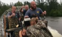 Video: Pregnant Mother and Her Family Saved From Florence Floods
