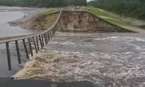Video Shows Water Rushing Over Failed North Carolina Dam