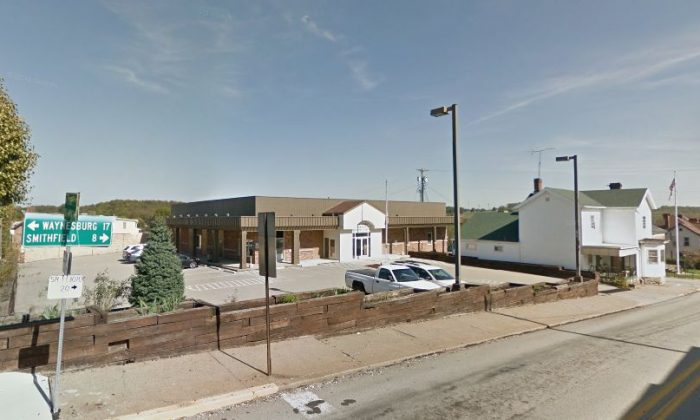 A shooting was reported at the Pennsylvania, district judge's office in Masontown in Fayette County, according to reports. District Judge Daniel Shimshock's office is there. (Google Street View)