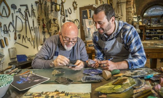 Only in Florence: The Artistry of Semiprecious Stone Paintings