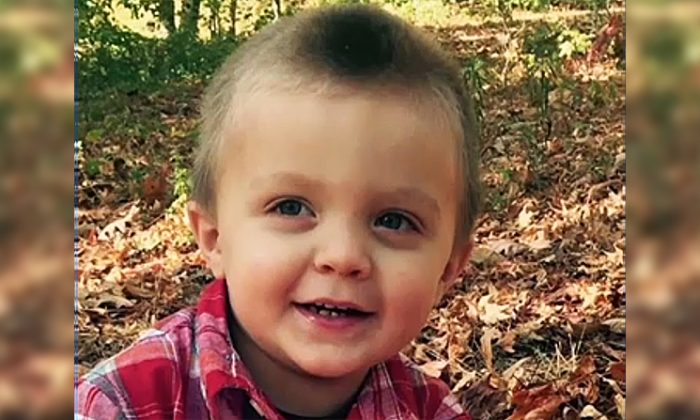 Four-year-old Chandler Mahaffey was bitten by a rabid raccoon on the porch of his Covington, Ga., home on Sept. 13, 2018. (Screenshot/Fox)