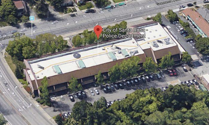 City of Santa Rosa - Police Department in Santa Rosa, California. (Map data @2018 Google)