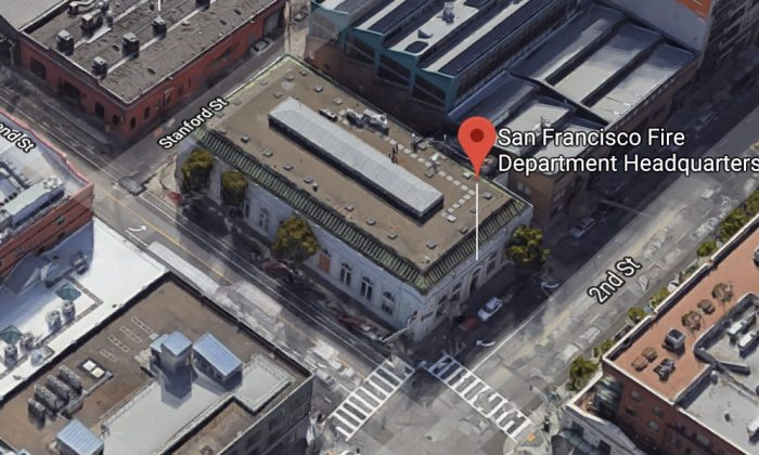 San Francisco Fire Department Headquarters in San Francisco, California. (Map data @2018 Google)